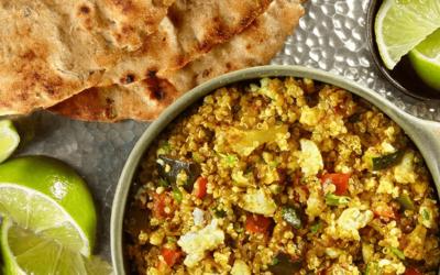 Pikantne curry w indyjskim stylu